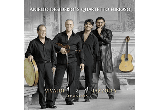 Aniello's Quartetto Desiderio - Vivaldi 4 & 4 Piazzolla Seasons - (CD)