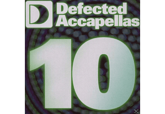 VARIOUS - Defected Accapellas Vol.10 [CD]