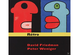 FRIEDMAN,DAVID & WENIGER,PETER - Retro - (CD)