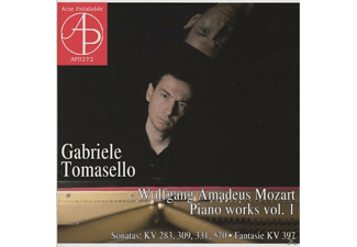 Gabriele Tomasello - Klavierwerke vol.1 - (CD)