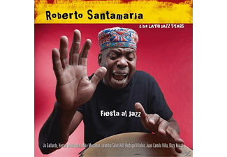 Roberto & His Lati Santamaria - Fiesta Al Jazz - (CD)