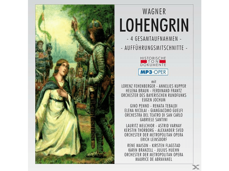 ORCH.D.BAYER.RUNDFUNKS, Or.Del Teatro Di San Marco - Lohengrin-Mp 3 Oper [MP3-CD]