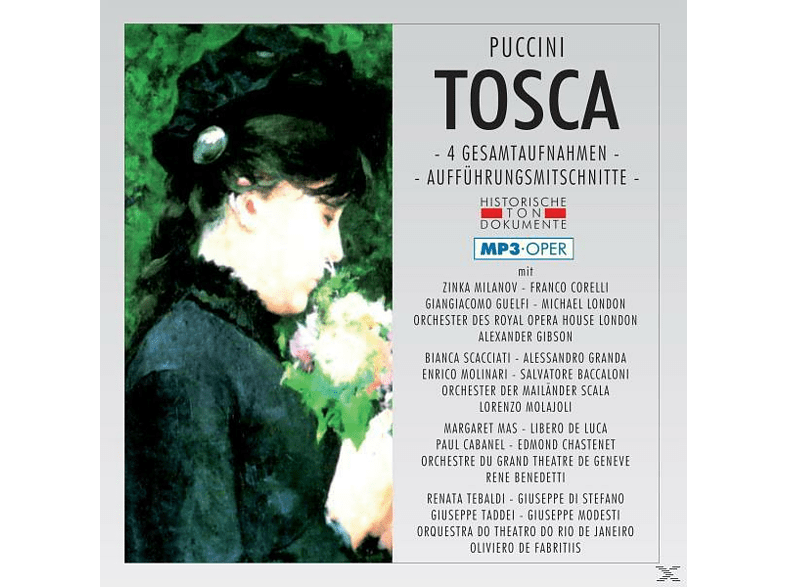 Orch.D.Royal Opera House London - Tosca-Mp 3 [MP3-CD]