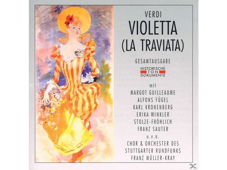 Müller-kray - La Traviata (Ga, Deutsch 1948) [CD]