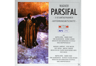 Orch.D.Bayreuther Festspiele, Orch.Des Teatro Colon - Parsifal-Mp 3 - (MP3-CD)