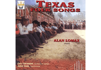 Alan Lomax - Texas Folk Songs - (CD)