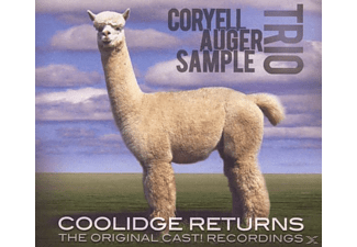 Coryell Auger Sample Trio - Coolidge Returns - (CD)