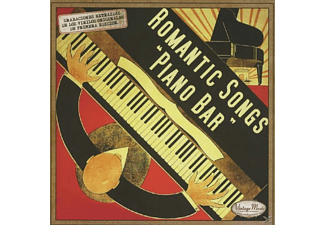 VARIOUS - Romantic Songs Piano Bar - (CD)