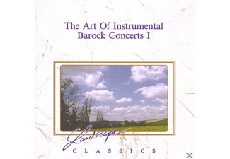 VARIOUS - The Art Of Instrumental-Barock Concerts 1 - (CD)