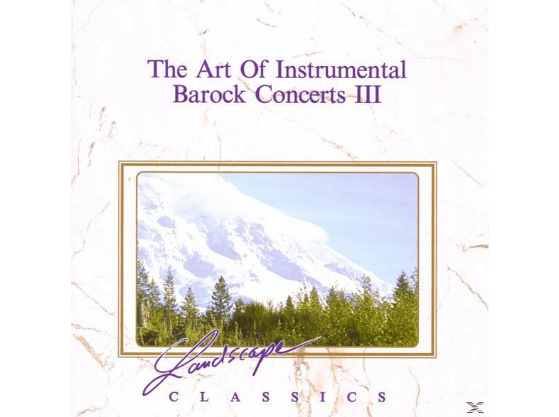 VARIOUS - The Art Of Instrumental-Barock Concerts 3 [CD]
