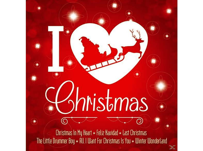 White Christmas All-stars - I love Christmas-A wonderful Christmastime [CD]