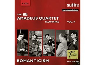 Amadeus Quartett - RIAS RECORDINGS 5-ROMANTICISM/BERLIN,1950-1969 - (CD)