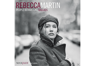 Rebecca Martin - People Behave Like Ballads - (CD)