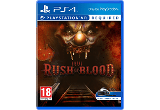 Until Dawn: Rush of Blood VR NL/FR PS4