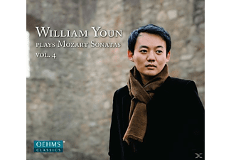 William Youn - Klaviersonaten KV 281,283,333,576 - (CD)