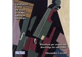 Cazzato Alessandro - Rewritings for Solo Violin - (CD)