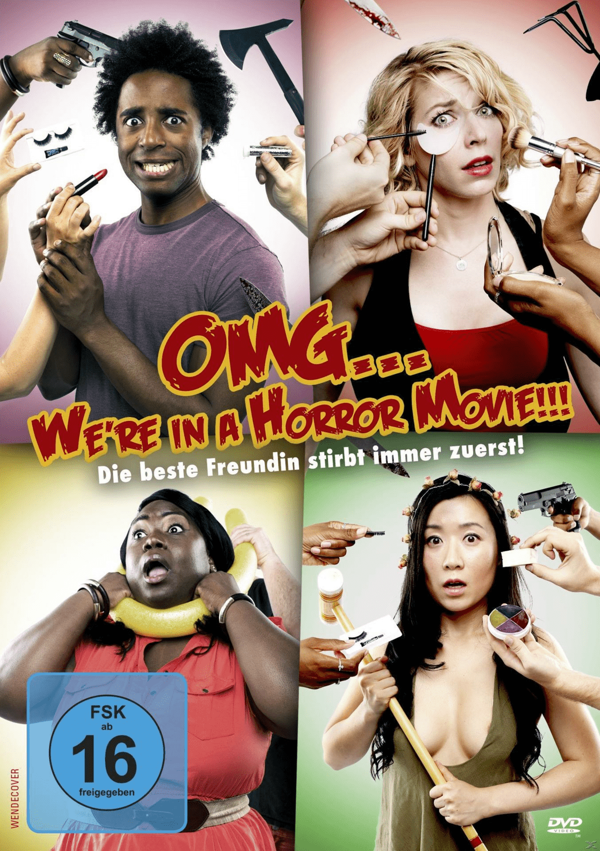 OMG ... We´re in a Horror Movie!!! - (DVD)