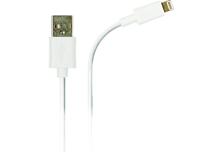 AZURI USB-kabel Apple Lightning Wit (AZCABLIGHTUSB-WHT)