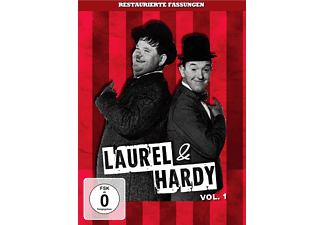 Laurel & Hardy (Dick & Doof) - Vol. 1 - (DVD)