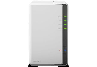 SYNOLOGY NAS-server 2 Bay zonder schijf (DS216J)