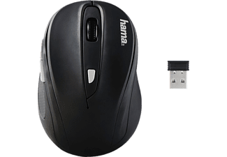HAMA AM-8200 Wireless Optical Mouse Black/Black - (134948)