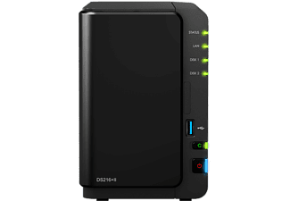SYNOLOGY NAS-server 2 Bay zonder schijf (DS216+II)