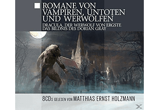 Romane von Vampiren, Untoten & Werwölfen - 8 CD - Science Fiction/Fantasy