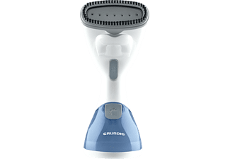 GRUNDIG ST 5550 Fashion Brush, Dampfbürste, 1000 Watt, Weiß Aqua