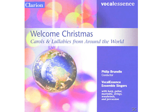 Philip Vocalessence/brunelle - Welcome Christmas - (CD)