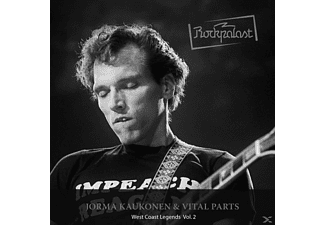 Jorma & Vital Parts Kaukonen - Rockpalast: West Coast Legends Vol.2 [CD]