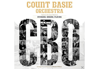 Count Basie, Count/Orchestra Ft.Cullum/Allen/Free Basie - Salutes The Jazz Masters - (CD)