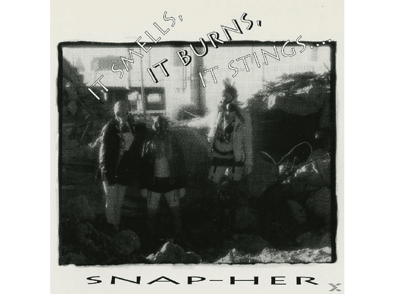 Snap-her - It Smells,It Burns,It Stings [CD]