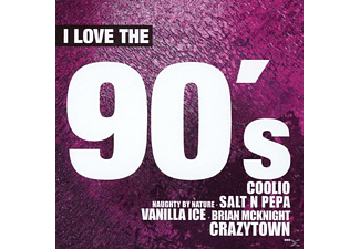 VARIOUS - I Love The 90s - (CD)
