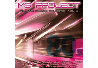 MS PROJECT - The 80s Remixes Collection Vol.2 - (CD)