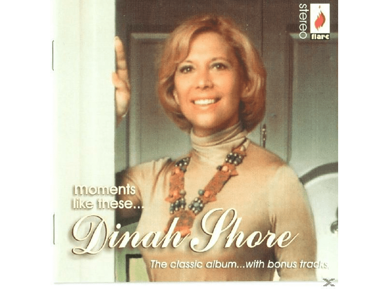 Dinah Shore - Moments Like These [CD]