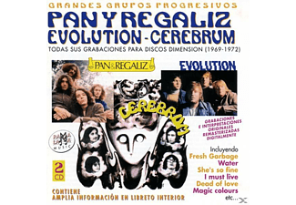 Pan Regaliz-evolution Y Cerebrum - Todas Sus Grabaciones En Discos Dimensio - (CD)