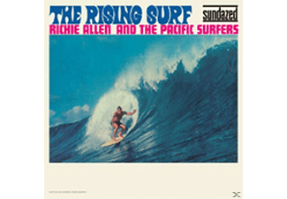Pacific Surfer, Richie & The Pacific Surfers Allen - The Rising Surf - (CD)