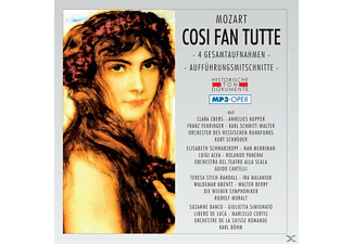 Chor & Orch.D.Hessisch.Rundfunks - Cosi Fan Tutte (Ga)-Mp 3 - (MP3-CD)