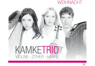 Kamke Trio - Weihnacht, Violine- Zither- Harfe - (CD)