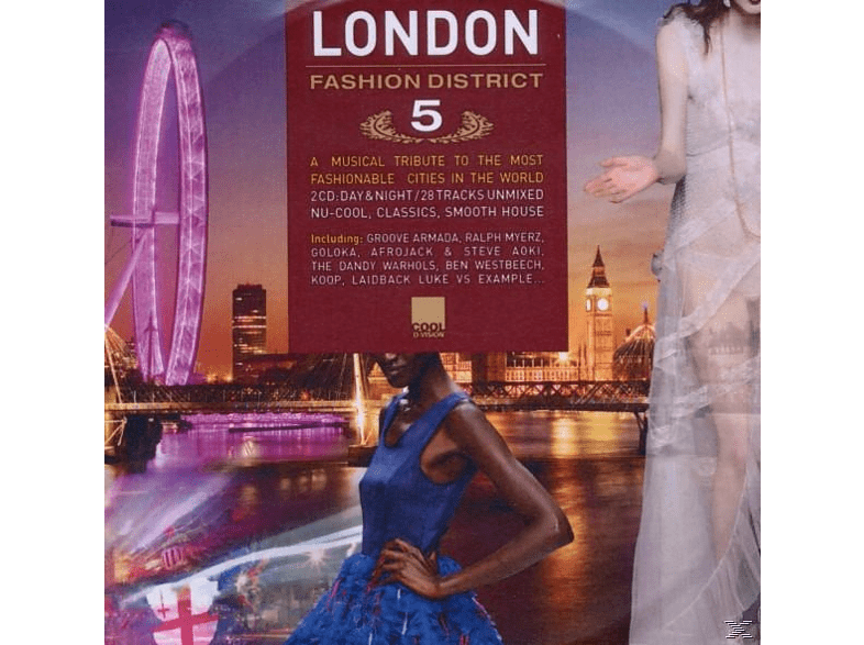 VARIOUS - London Fashion District 5 [CD]
