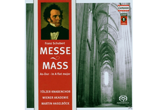 Tolz Boys & Hugo Distler Var.sol. - SCHUBERT: MASS NO. 5 - (SACD Hybrid)