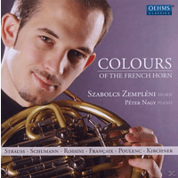 Peter Nagy, Szabolcs Zempleni - Colours Of The French Horn [CD]