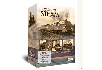 DECADES OF STEAM - (DVD)