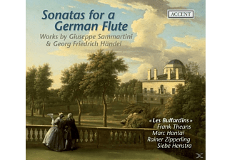 Les Buffardins - Sonatas For A German Flute - (CD)
