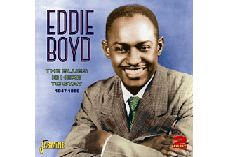 Eddie Boyd - Blues Is Here To Stay - (CD)