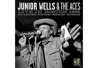 WELLS,JUNIOR & ACES,THE - Live In Boston 1966 - (CD)