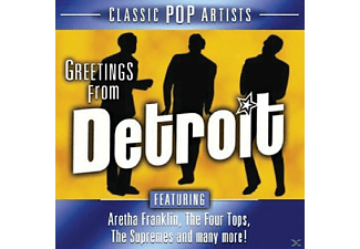 VARIOUS - Greetings From Detroit [CD]