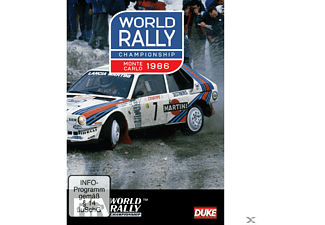 WORLD RALLY CHAMPIONSHIP MONTE CARLO1986 - (DVD)