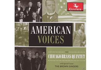 The Chicago Brass Quintet/The Brown Singers - American Voices - (CD)