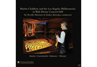Los Angeles Philharmonic, Martin/+ Chalifour - In Walt Disney Concert Hall - (CD)
